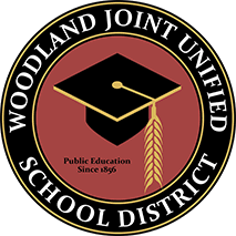 Woodland Joint Unified's Logo