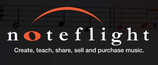 Noteflight's Logo